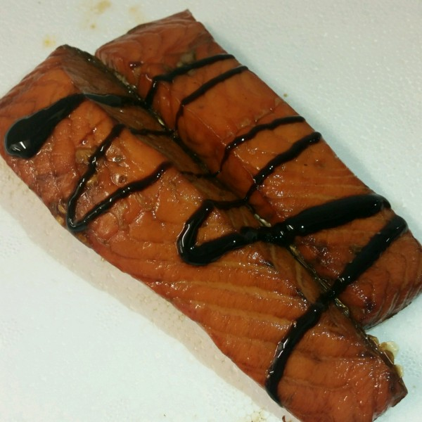 Treacle Roast Smoked Salmon