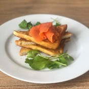 French Toast & Cold Smoked Trout
