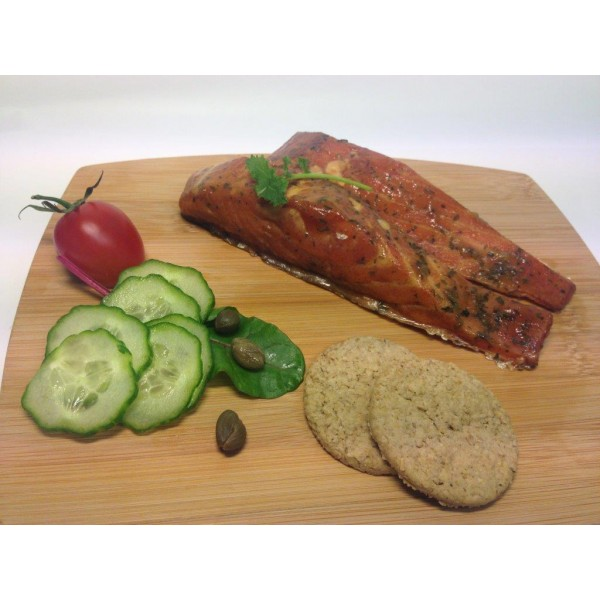 Lime & Coriander Roast Smoked Salmon
