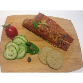 Honey & Whisky Roast Smoked Salmon
