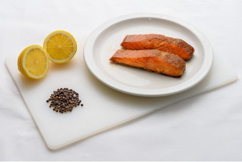 Lemon & Pepper Roast Smoked Salmon