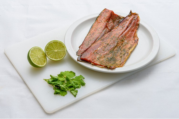 Lime & Coriander Smoked Trout